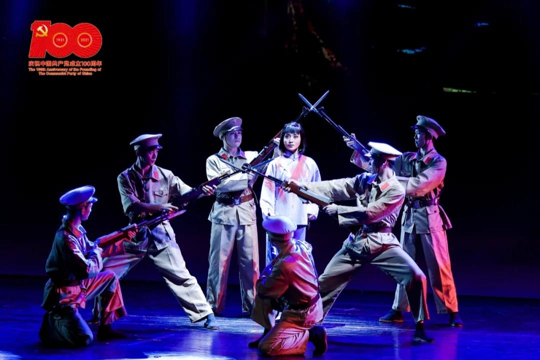 宁波小百花越剧团红色经典小戏《李敏就义》