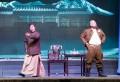 大型秦腔现代戏《肝胆祁连》在民俗文化村演出